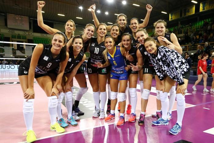 Volley, A1 femminile - Gara 1 di semifinali Scudetto: vince il fattore campo