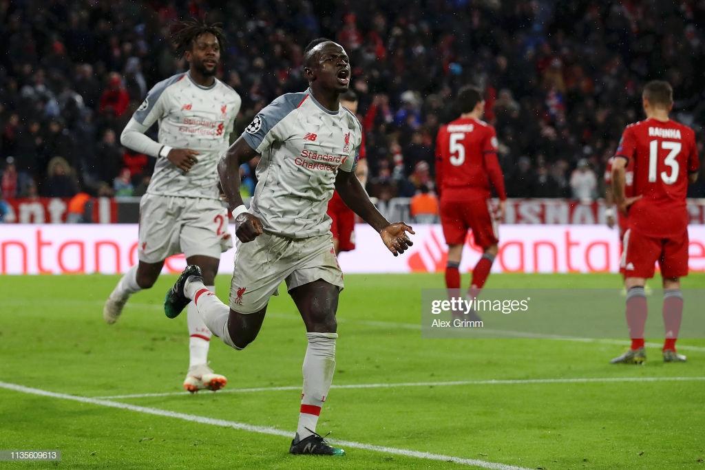 Bayern Munich 1-3 Liverpool: Mane scores twice in mature win over Bayern