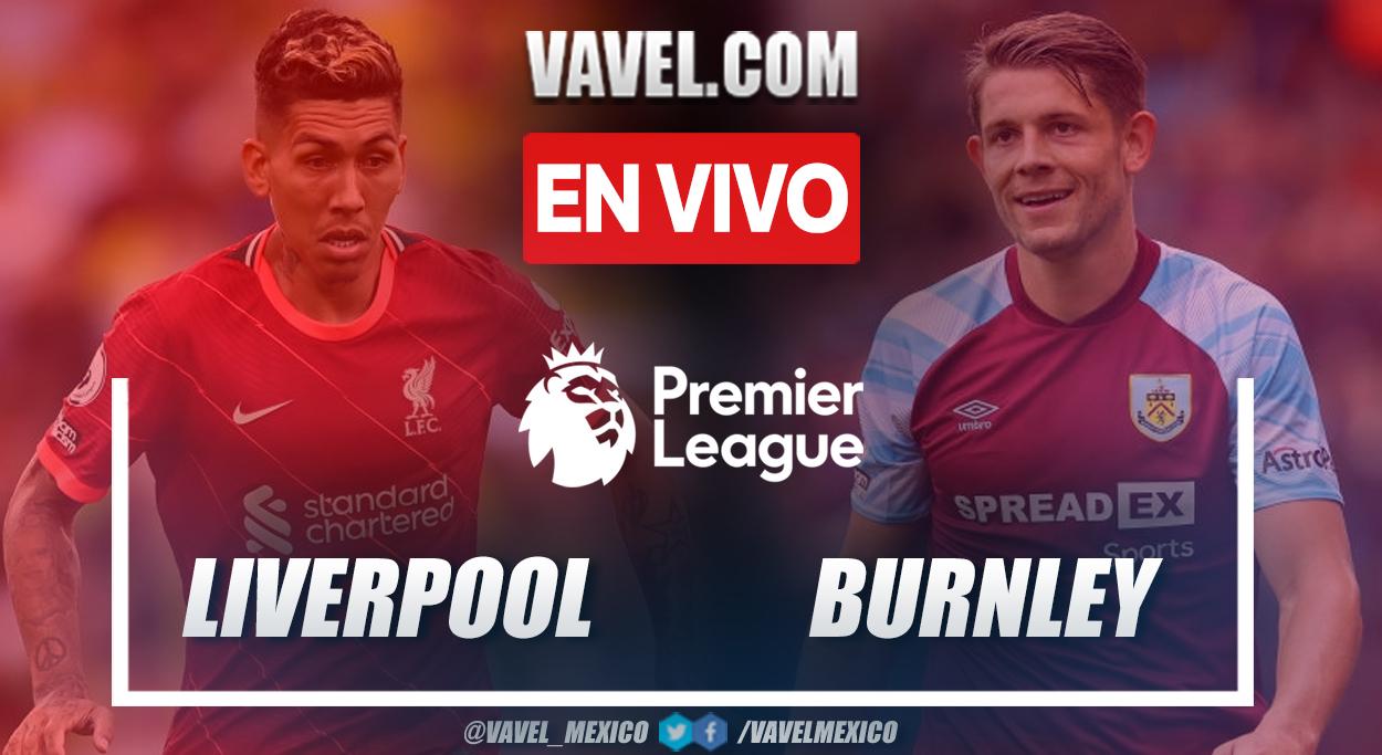 Resumen y goles: Liverpool 2-0 Burnley en Premier League