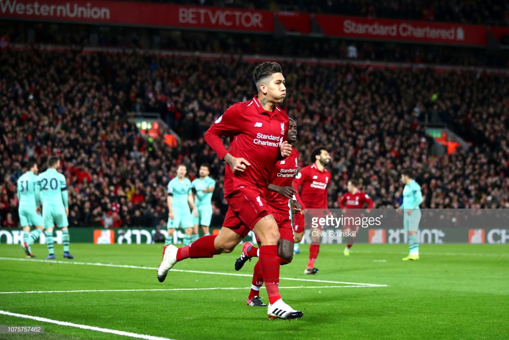 Liverpool 5-1 Arsenal: Liverpool leave Arsenal in their wake with emphatic win