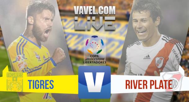 Resultado Tigres x River na final da Copa Libertadores 2015 (0-0)