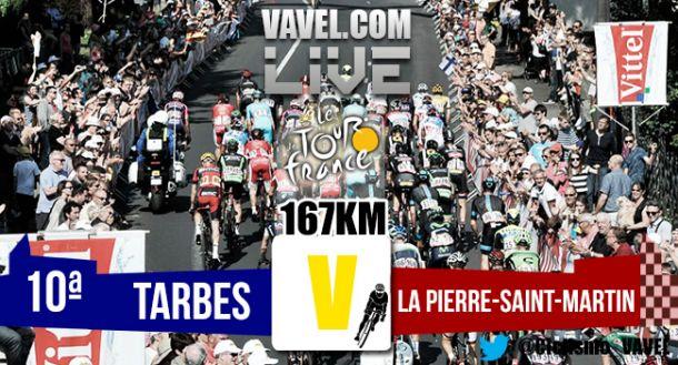 Resultado etapa 10 del Tour de Francia 2015: Froome vence en la Pierre-Saint-Martin
