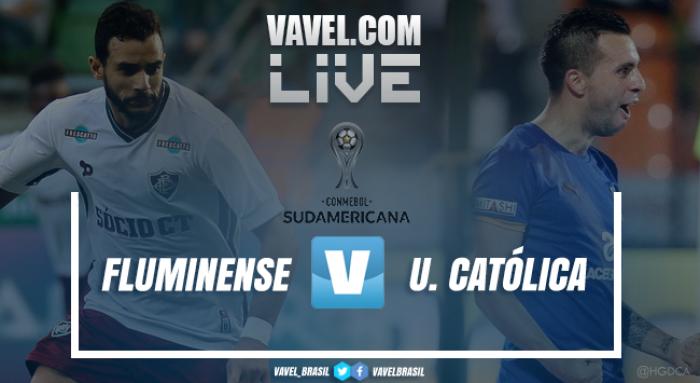 Fluminense goleia a U. Católica e fica perto das oitavas da Sula