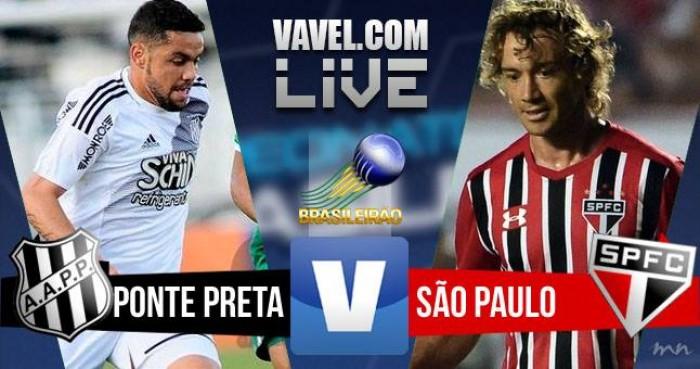 Resultado Ponte Preta x São Paulo no Campeonato Brasileiro 2016 (1-0)