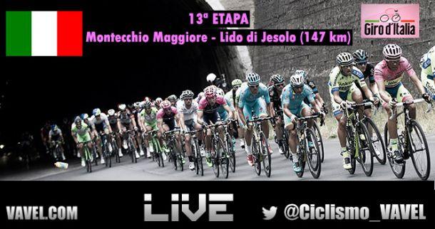 Etapa 13 del Giro de Italia 2015 en vivo y en directo online