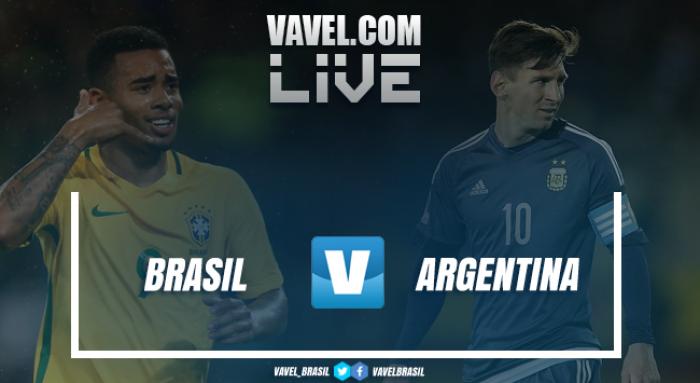 Gabriel Jesus está desconvocado da Seleção Brasileira