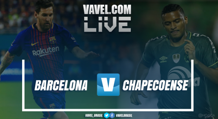 Resultado Barcelona x Chapecoense no Troféu Joan Gamper 2017 (5-0)