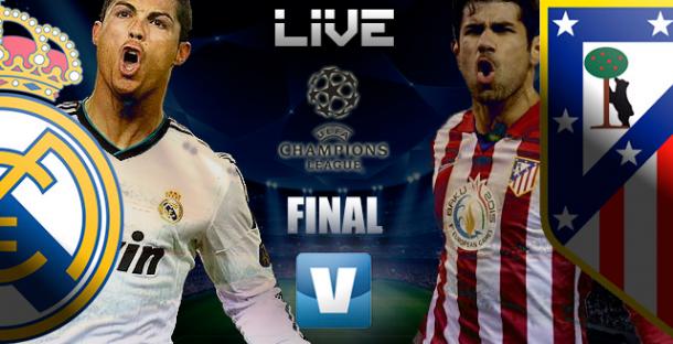 Final Liga dos Campeões 2014: Real Madrid x Atlético deMadrid