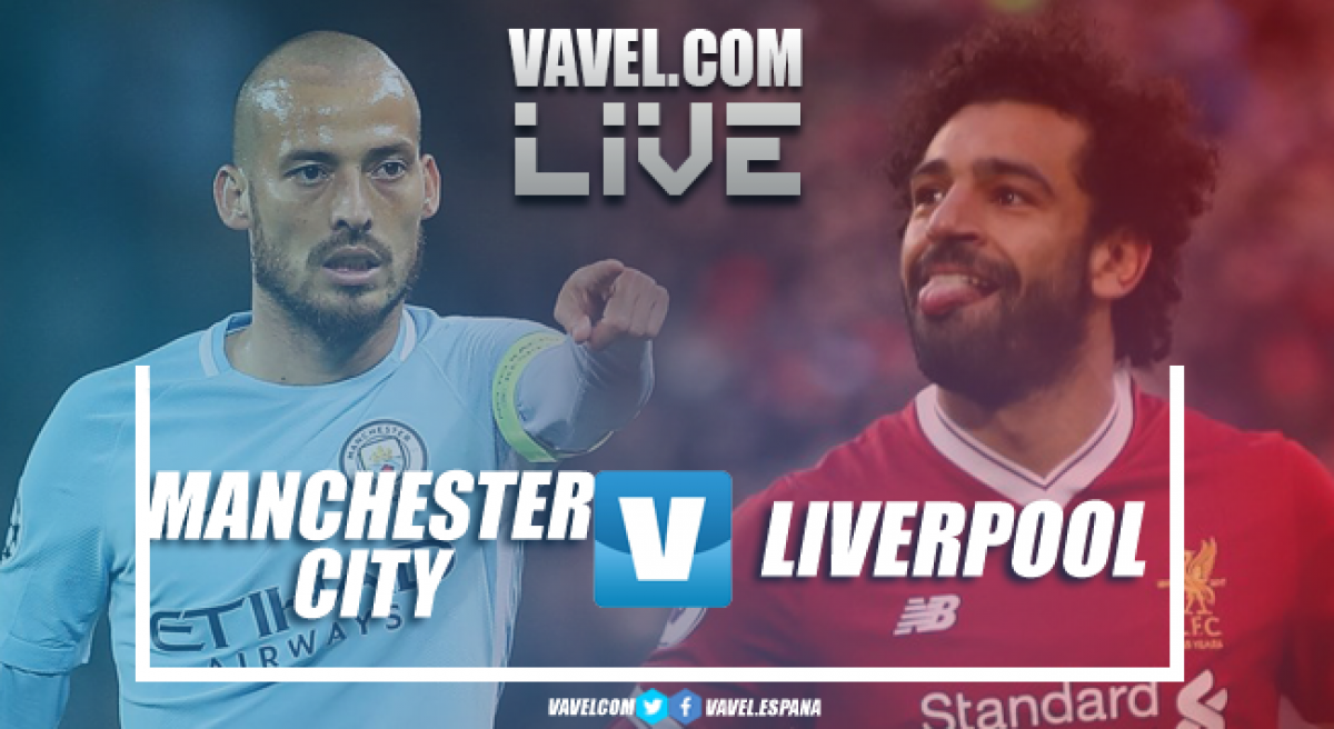 Manchester City - Liverpool in diretta, LIVE Champions League 2017/18 - Jesus, Salah, Firmino! (1-2)