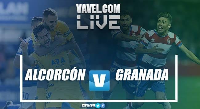 Resumen Alcorcón vs Granada CF EN VIVO en LaLiga 123 (1-0)