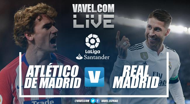 Resumen Atlético de Madrid 1-3 Real Madrid en LaLiga 2019