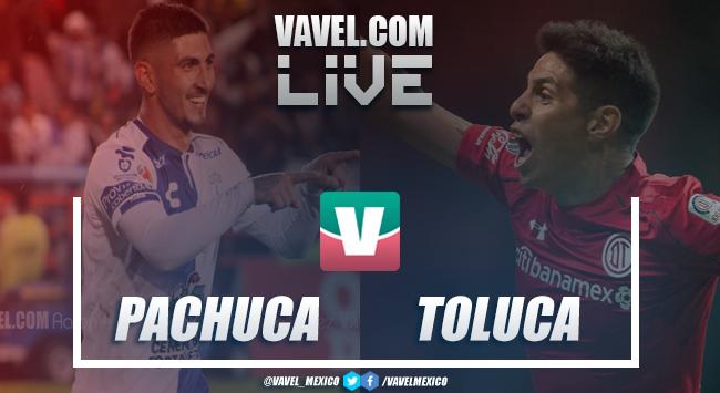 Resultado y goles del Pachuca 3-2 Toluca de la Liga MX 2019
