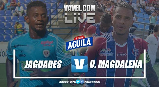 Resumen Jaguares de Córdoba vs Unión Magdalena, Liga Aguila 2019-II (1-0)