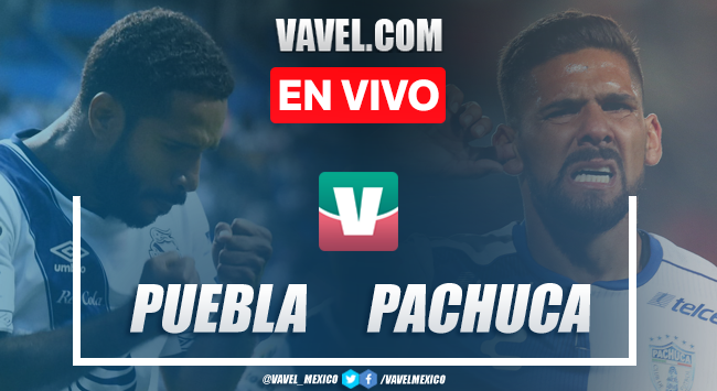 Resumen y video goles Puebla 0-4 Pachuca en Apertura 2019