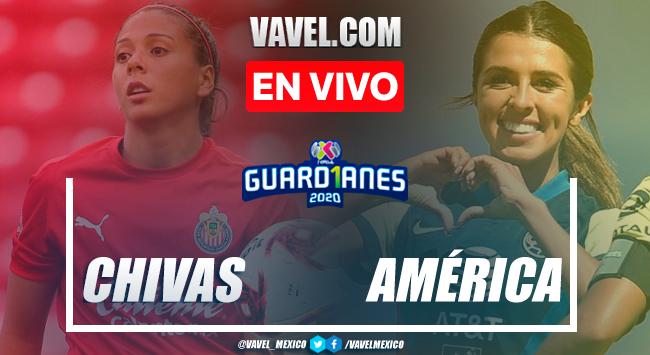Chivas Femenil vs América Femenil en vivo cómo ver transmisión TV online en Clásico Liguilla Liga MX Femenil