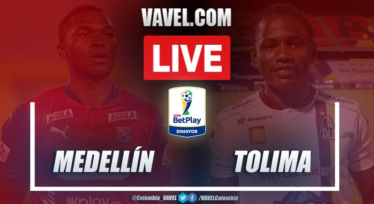Resumen Medellín 1 (5) - Tolima 1 (4) en final de Copa BetPlay 2020