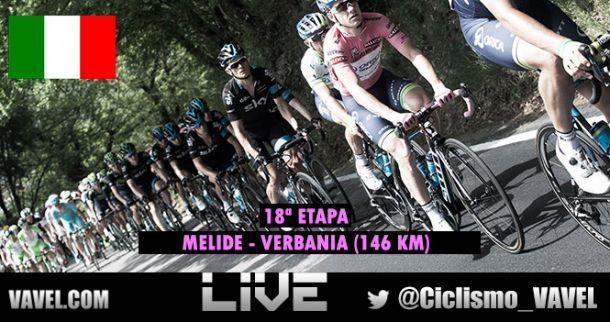 Giro de Italia 2015: 18ª etapa en vivo y en directo online