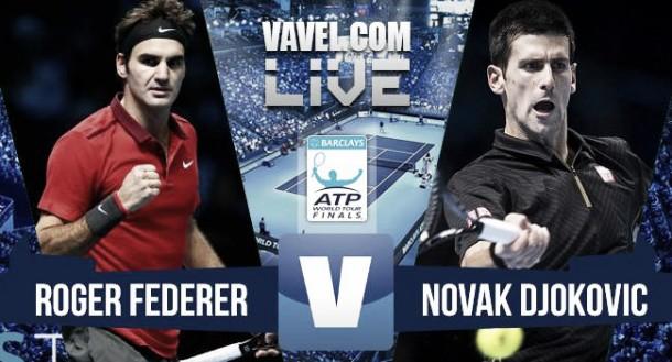 Resultado Djokovic vs Federer ATP Finals 2015 (2-0): larga vida al rey