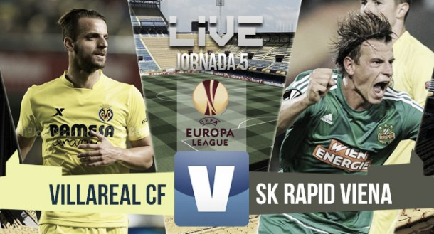 Resultado Villarreal vs Rapid Viena en Europa League (1-0): liderato amarillo