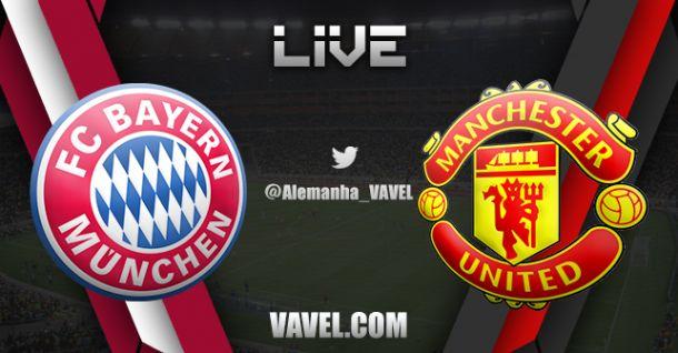 Bayern de Munique x Manchester United, Champions Leagu