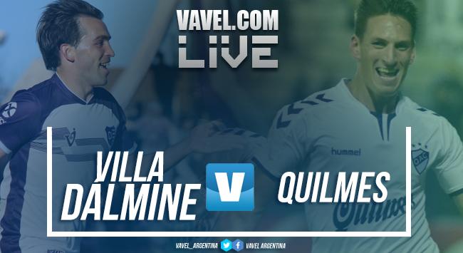 Resumen Villa Dálmine 1-1 Quilmes en B Nacional