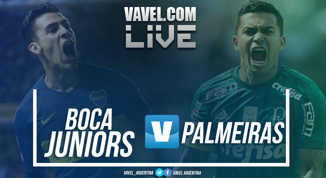 Resumen Boca Juniors 2-0 Palmeiras en Copa Libertadores