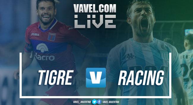 Resumen Tigre (1) vs Racing (1) por la SuperLiga Argentina
