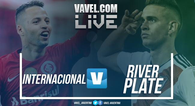 Resultado final Internacional vs River Plate por Copa Libertadores (2-2)