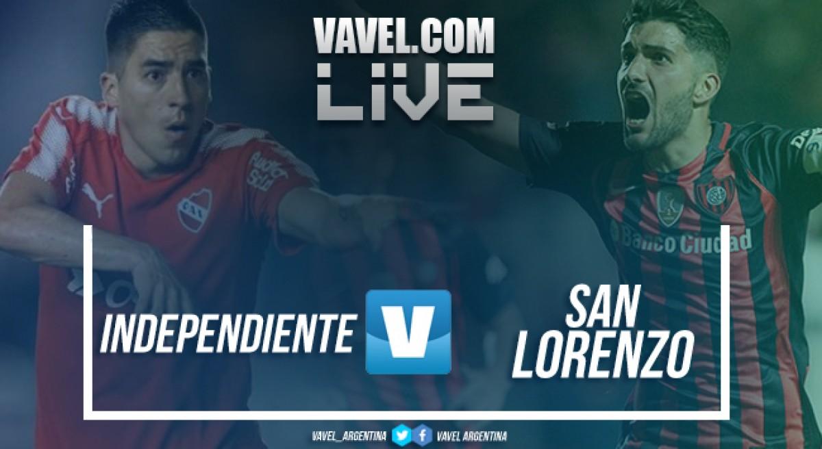 Resumen Independiente 0-1 San Lorenzo en Superliga Argentina 2018
