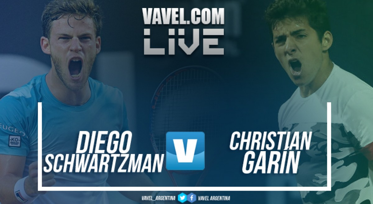 Diego Schwartzman vs Christian Garín en vivo online por Copa Davis