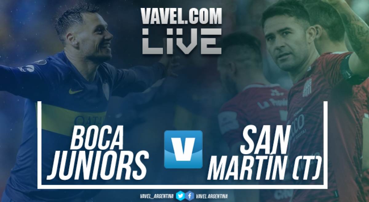Resumen Boca Juniors 2-0 San Martín de Tucumán en Copa Argentina