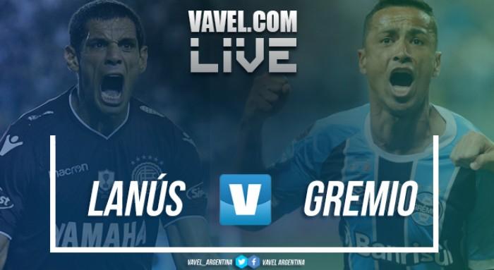 Resumen Lanús vs Gremio en vivo por Copa Libertadores 2017 (1-2)