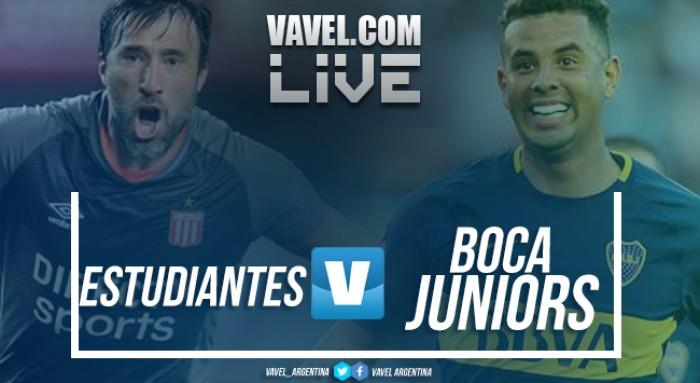 Estudiantes vs Boca Juniors en vivo online por Superliga Argentina 2017 (0-1)