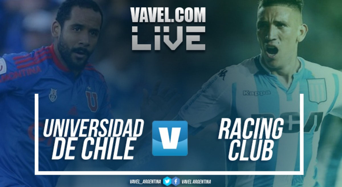 Resumen Universidad de Chile 1-1 Racing en Conmebol Libertadores 2018