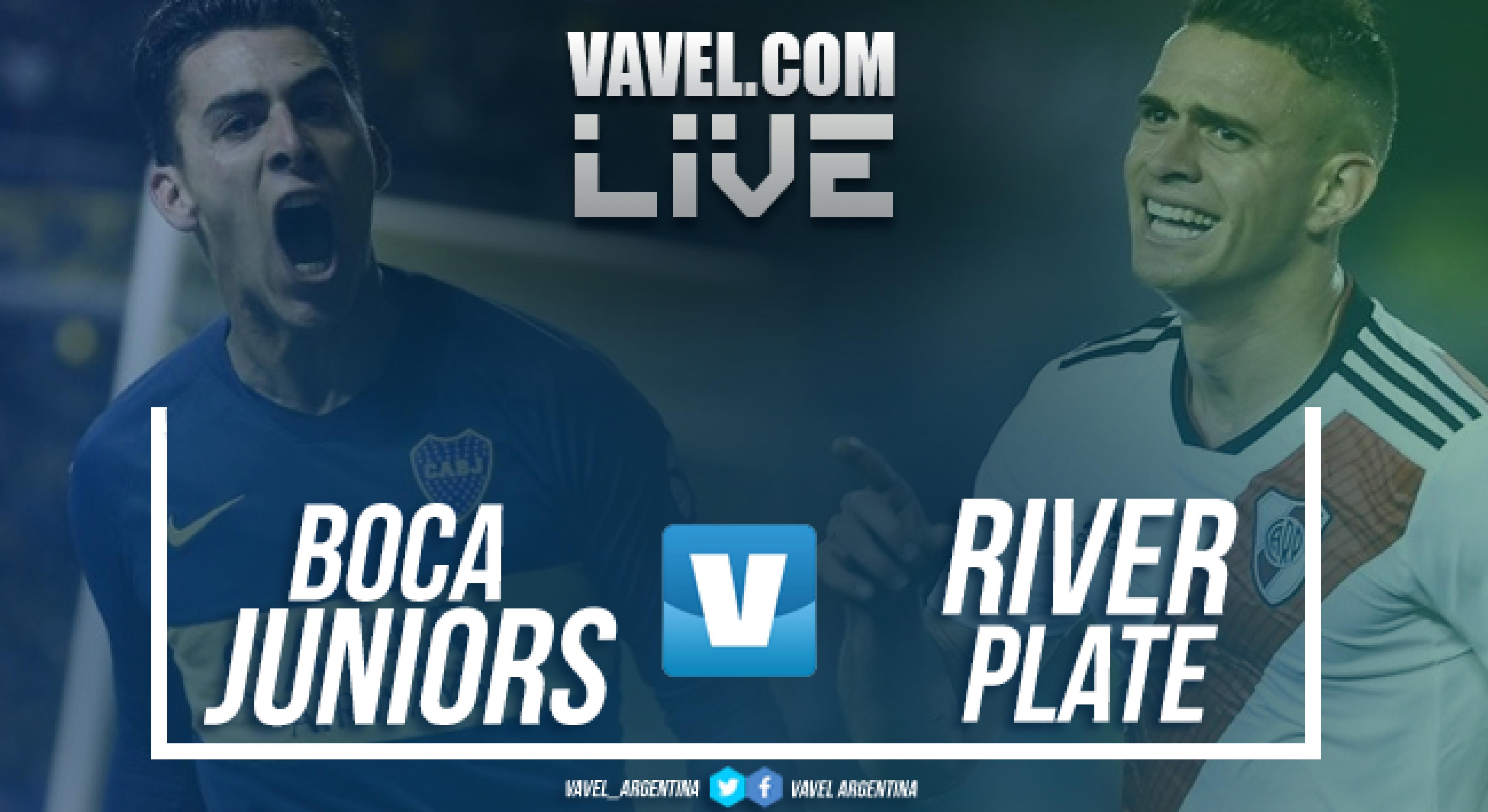 Resumen Boca Juniors 0-2 River Plate en Superliga 2018