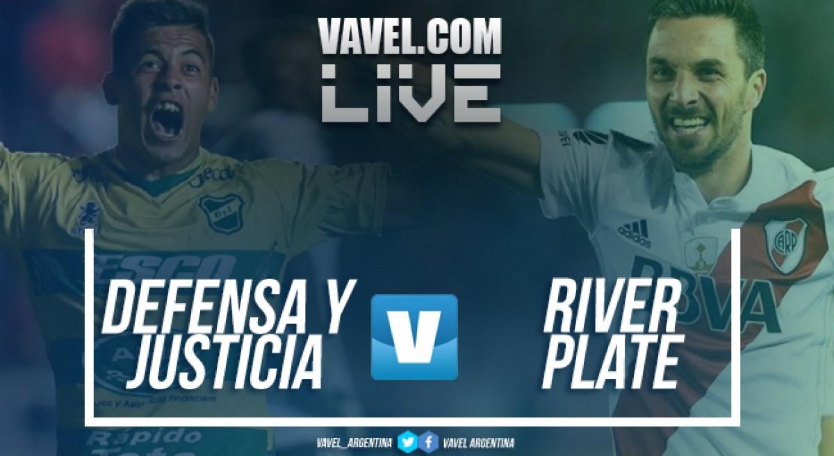 Resumen Defensa y Justicia 1-3 River Plate en Superliga 2018