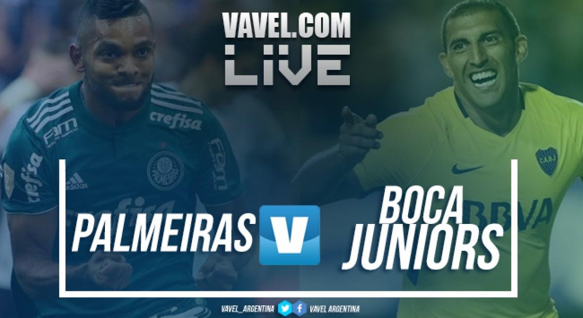 Resultado Palmeiras x Boca Juniors (1-1)