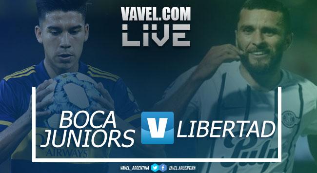 Boca vs Libertad EN VIVO hoy por Copa Libertadores (0-0)