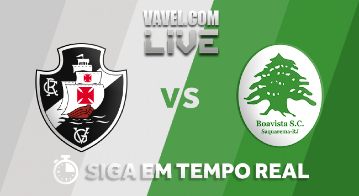 Resultado e gols Vasco 4x3 Boavista pela Taça Rio 2018
