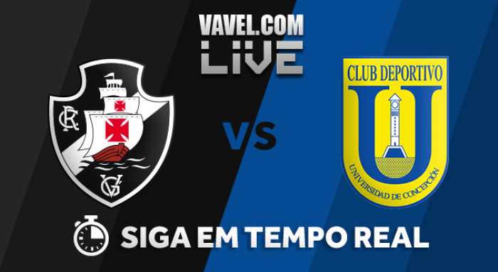 Resultado Vasco x Universidad Concepción pela Copa Libertadores 2018 (2-0)