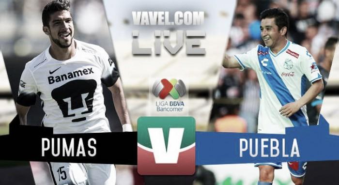 Resultado Pumas - Puebla en Liga MX 2016 (0-1) | VAVEL.com