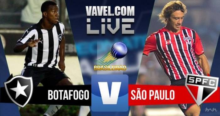 Resultado Botafogo x São Paulo no Campeonato Brasileiro 2016 (0-1)