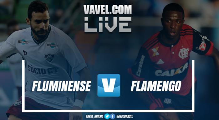 Resultado Fluminense 2x2 Flamengo no Campeonato Brasileiro 2017