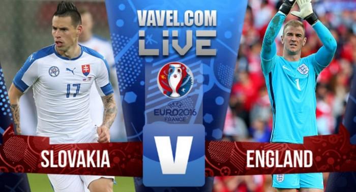 Resultado Eslováquia x Inglaterra pela Eurocopa 2016 (0-0)