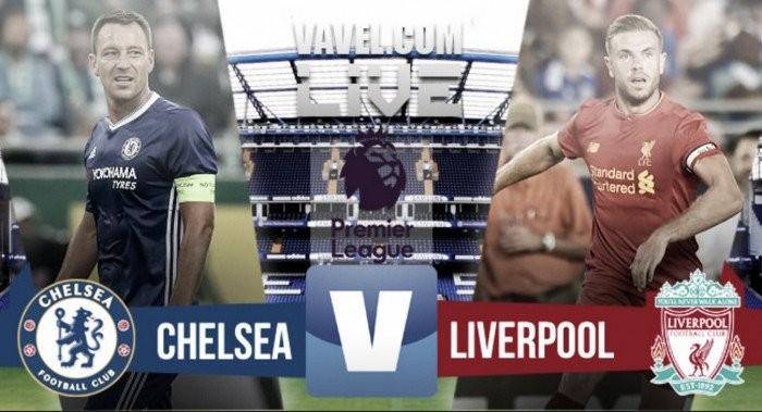 Terminata Chelsea-Liverpool in Premier League 2016/17 (1-2): decide l'eurogol di Henderson!
