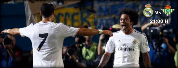 Real Madrid-Betis Seville en direct  (Terminé)