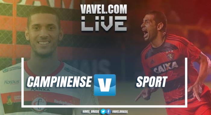 Resultado Campinense x Sport na Copa do Nordeste (3-1)