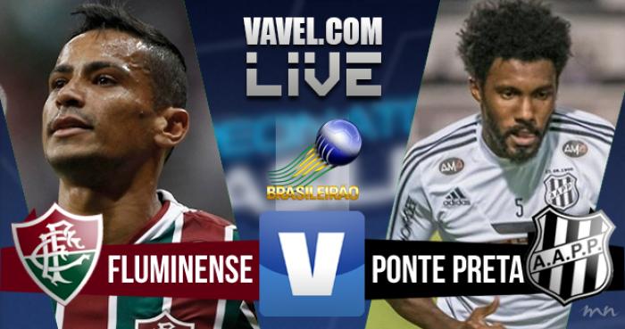 Resultado Fluminense x Ponte Preta no Brasileirão 2016 (3-0)