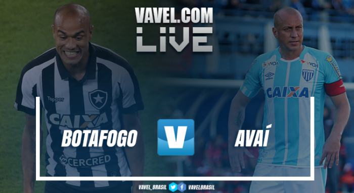 Jogo Avaí x Botafogo AO VIVO hoje pelo Campeonato Brasileiro 2017 (0-0)