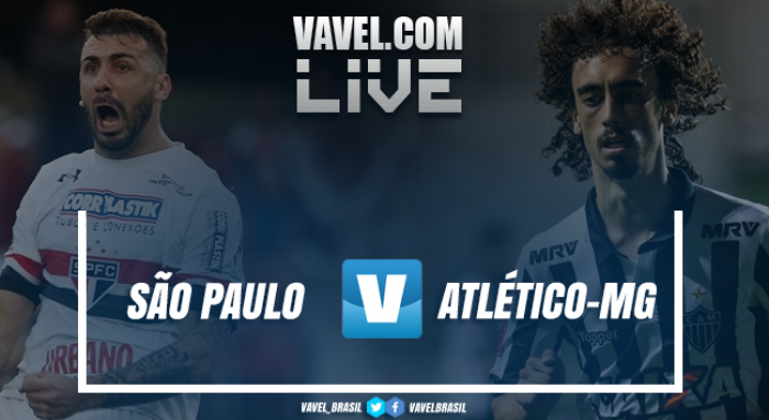 Resultado São Paulo x Atlético-MG pelo Campeonato Brasileiro (1-2)